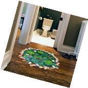 Removable 3D Art Floor/Wall Sticker Living Room Wallpaper
