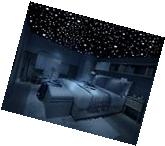 Removable Decal Wall Sticker Art Mural Home Bedroom Decor Dark Stars 3D Realisti