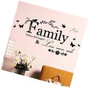 Removable Wall Vinyl Decal Art Mural Home Room Decor Quotes