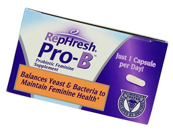 RepHresh Pro-B Probiotic Feminine Supplement-New Mega Size