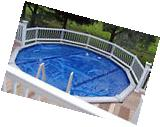 Resin Aboveground Swimming Pool Safety Fence Base Kit A - 8