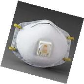New Respirator Mask 10pk Valve Particulate N95 Safety Face Dust Protector Filter
