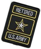 RETIRED US Military United States Army of One Star