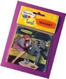 Anne Taintor NEW Retro Vintage Funny MAGNET 3.5x3.5 ~ why am