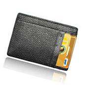 AIKELIDA Rfid Money Clip Leather Front Pocket Slim Wallet