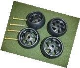 CRAFTSMAN RIDING MOWER DECK WHEELS & BOLTS 4 PACK 174873