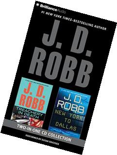 J.D. Robb - 2-in-1 Collection: Treachery in Death and New