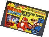 Rock'em Sock'em Robots by Mattel 1966 Classic Game - 35th