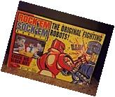 Rock'em Sock'em Robots Game- 1960's in Box  Repro Mattel