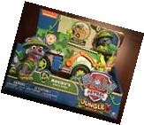 Paw Patrol Rocky's Jungle Rescue Recycle Truck Green Vehicle