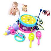 Baby Kids Roll Drum Musical Instruments Child Educational