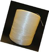 Roll of Tomato Garden Twine White Plastic 6300 feet Rope