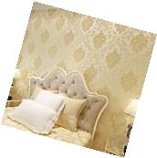 Pack of 10 Roll victorian texture embossed Damask Cream