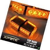 Rooftop Strobe Light Bar 24 LED Flash Emergency Warning