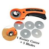 45MM Rotary Cutter Quilters Sewing Quilting Fabric Cut Craft