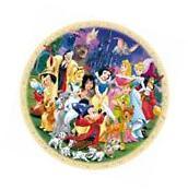 RAVENSBURGER ROUND DISNEY JIGSAW PUZZLE WONDERFUL WORLD OF