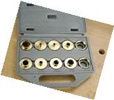 Router Template Guide Bushing Set w/ Case for Porter C.