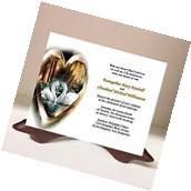 Wedding Invitations RSVP Card Gold Heart Love Elegant Swans