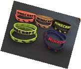 Lot Of 10 Rubber Bracelets Wristbands For Kids Boy And Girl
