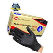 Rubber Latex Free Exam Gloves Disposable Nitrile Black