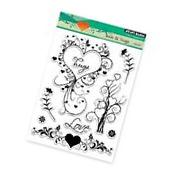 PENNY BLACK RUBBER STAMPS CLEAR LOVE & HUGS NEW clear STAMP