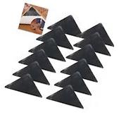 12 Pack Rug Gripper Carpet Rubber Anti-skid Pad