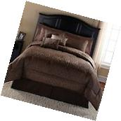 Mainstays Safari 7-Piece Bedding Comforter Set Full/Queen