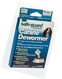 Safe-Guard Canine Dewormer, 3 x 2 g