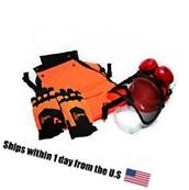 Chainsaw Safety Chap Pants Hard Hat Helmet Glasses Glove w/