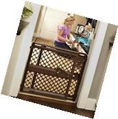 Safety Indoor Barrier Baby Child Dog Gate Walk Thru Pet