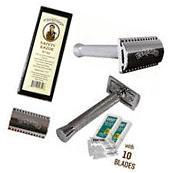 Barbero Safety Razor No.02 with 10 Free Blades