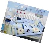 SoHo Baby Sailboat Baby Crib Nursery Bedding Set 13 pcs