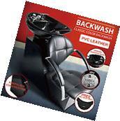 New Salon Backwash Shampoo Chair Ceramic Bowl Sink Leather