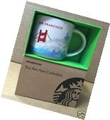 STARBUCKS SAN FRANCISCO MUG CUP YOU ARE HERE COLLECTION