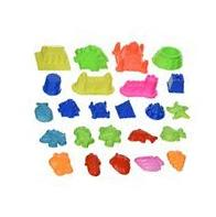 Sand Molding Toy Set. 24 pieces Small Kids Brookstone Arena
