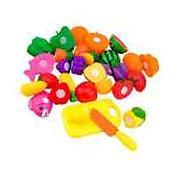 Schoolsupplies 16pcs/set Plastic Kitchen Food Fruit