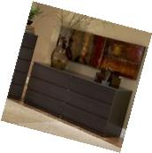 Tvilum SCOTTSDALE COFFEE 6 DRAWER DOUBLE DRESSER