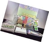 Scrapbook Assorted Lot Of Supplies Lot #16 Paper Pack, Staples, Stickers, Misc