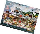 Buffalo Games By The Sea By Charles Wysocki Jigsaw Puzzle
