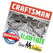 Sears Craftsman 323 pc Mechanics Tool Set #17155 Sockets