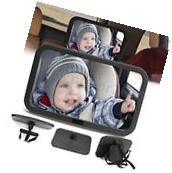 Child Baby Seat Car Safety Mirror Easy View Adjustable