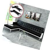 Sectional Sofa Bed Sleeper Convertible Couch Chaise Lounge