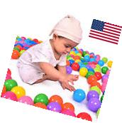 300 pcs Baby Kid Pit Toy Game Swim Pool Soft Plastic Ocean