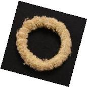 """Natural Seed Grass Wreath 5""""  12pc/Pack #00258"""