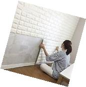 1X0.5' Self Adhesive Brick 3D Tile Wallpaper Panel For Home