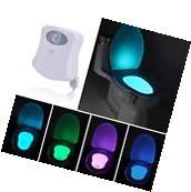 Body Sensing Automatic LED Motion Sensor Night Lamp Toilet