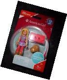 AMERICAN GIRL Series 2 Mega Construx Mini Dolls ~ Blonde
