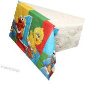 SESAME STREET 1st BIRTHDAY PLASTIC TABLE COVER ~ Party
