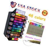 Set 48 Color FINECOLOUR 0.3mm Sketch WaterColor Drawing