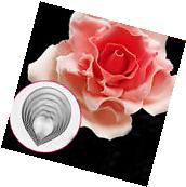 6pcs/set Fondant Sugarcraft Cutters Tool Rose Flower Petal